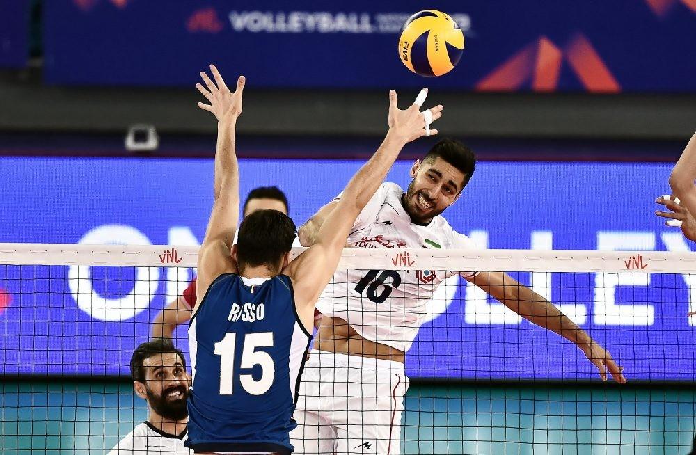 تیم ملی والیبال ایران لیگ چهانی