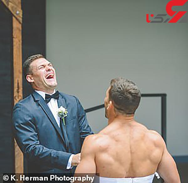 عکس غافلگیری عروس (4)