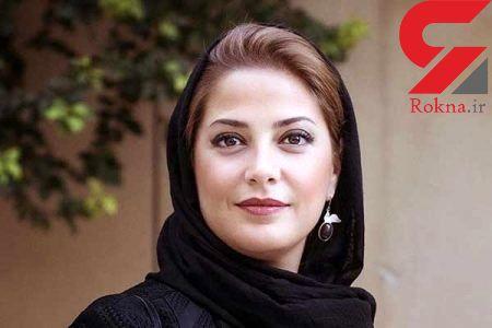 گریم عجیب بازیگر خانم ایرانی در فیلمی که هشت سال توقیف بود + عکس
