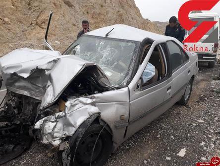 عکس وحشتناک از تصادف مرگبار در جاده ایلام