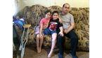 پسر ۹ ساله به خاطر خواهرش پای خود را از دست داد +عکس