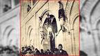 عکس دار زدن عجیب مجرمان ایرانی در سال 1278 +عکس