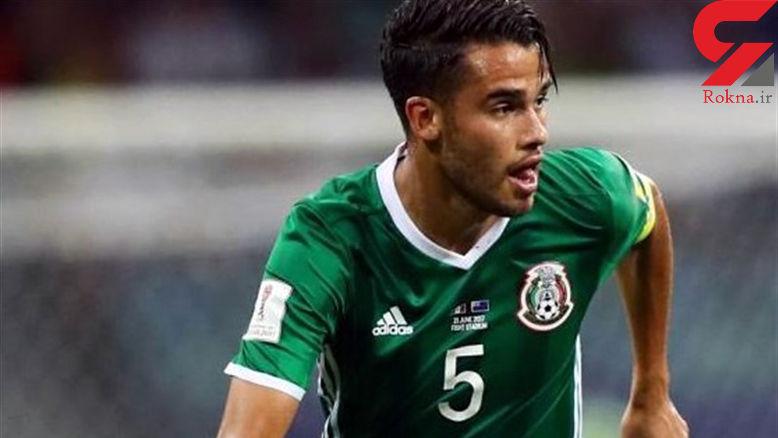 بازیکن موثر مکزیک جامجهانی را از دست داد +عکس