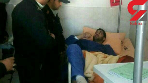 تبهکاران فراری شهریار مامور پلیس را زیرگرفتند / او به شهادت رسید + عکس
