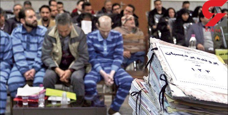 پخش مستنداتی از اقدامات خلاف قانون متهمان در صحن علنی دادگاه