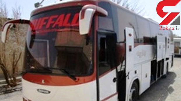 اتوبوس حامل کالای قاچاق توقیف شد