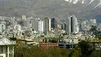 کیفیت هوای تهران در شرایط سالم قرار دارد