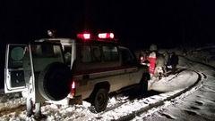 30 گردشگر گرفتار در برف سالند دزفول نجات یافتند