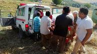 واژگونی کمباین در اراضی کشاورزی گالیکش حادثه آفرید