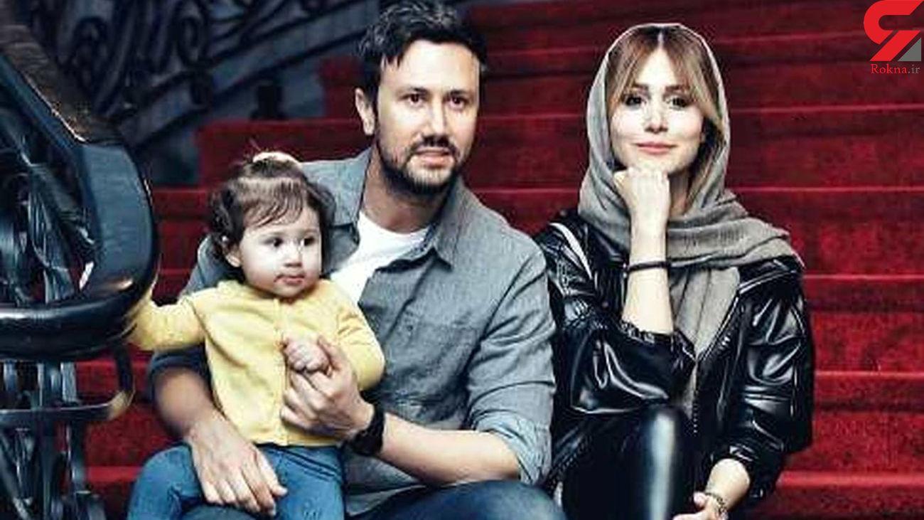 همه خانواده شاهرخ استخری در یک قاب + عکس