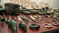 کشف هزار و ۶۲ قطعه اشیای عتیقه در شهرستان محمودآباد