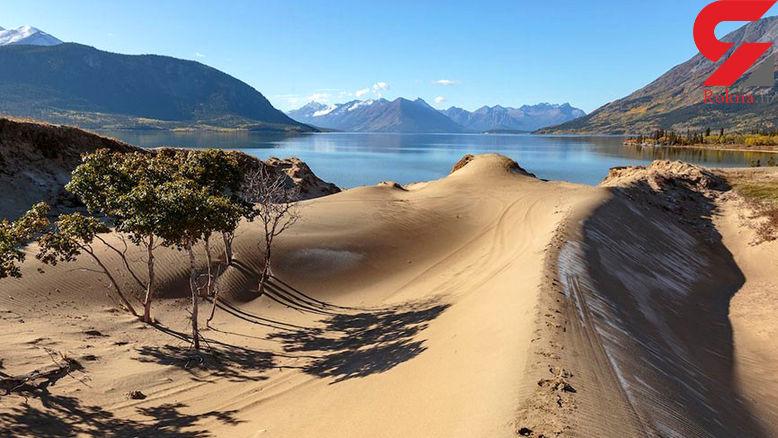 زیباترین صحراهای شنی دنیا/ایران در صدر زیباترین ها