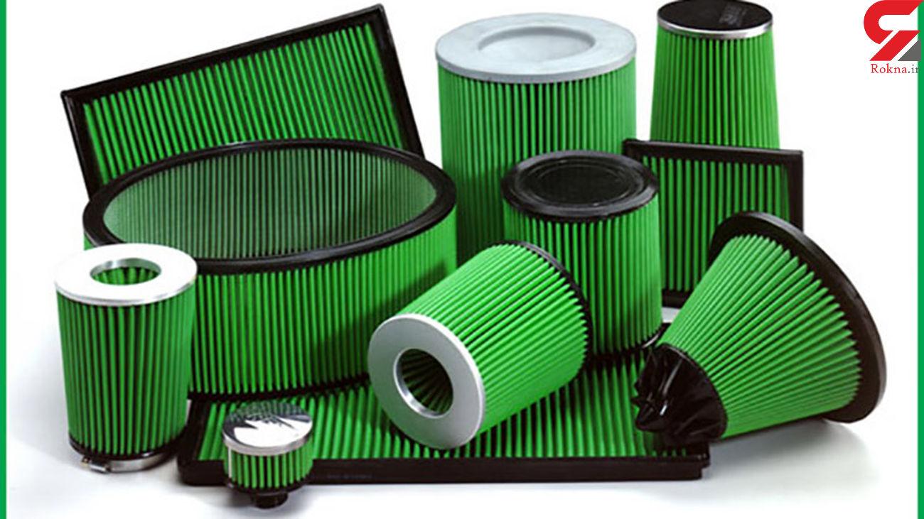 پلمب ۴ واحد  تولید کننده  فیلتر هوای خودرو در گچساران