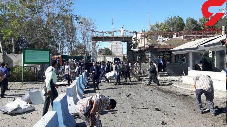 اولین عکس ها از حادثه تروریستی و حمام خون چابهار+فیلم و تصاویر