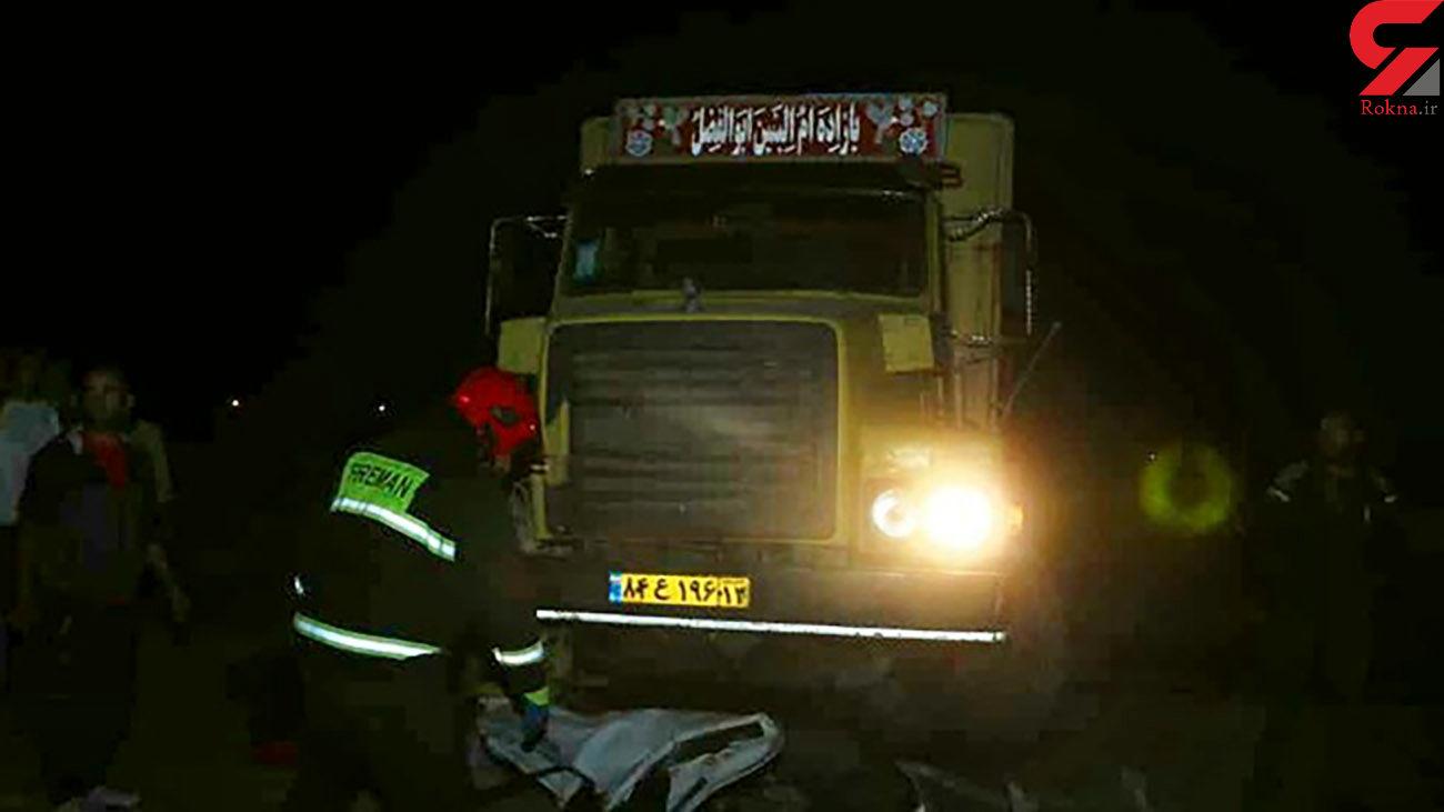 3 کشته و زخمی در تصادف مرگبار محور سرایان _ بیرجند