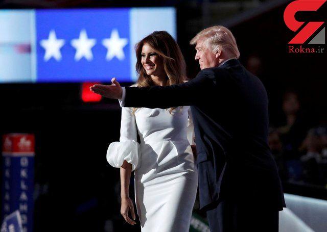 دروغ بزرگ ملانیا ترامپ / من عاشق همسرم هستم!