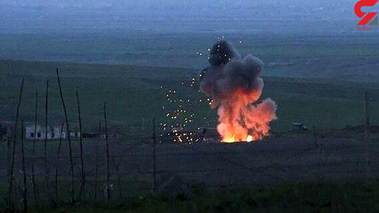 اصابت 2 موشک به خاک ایران / آماده باش در شمالغرب ایران! + جزییات