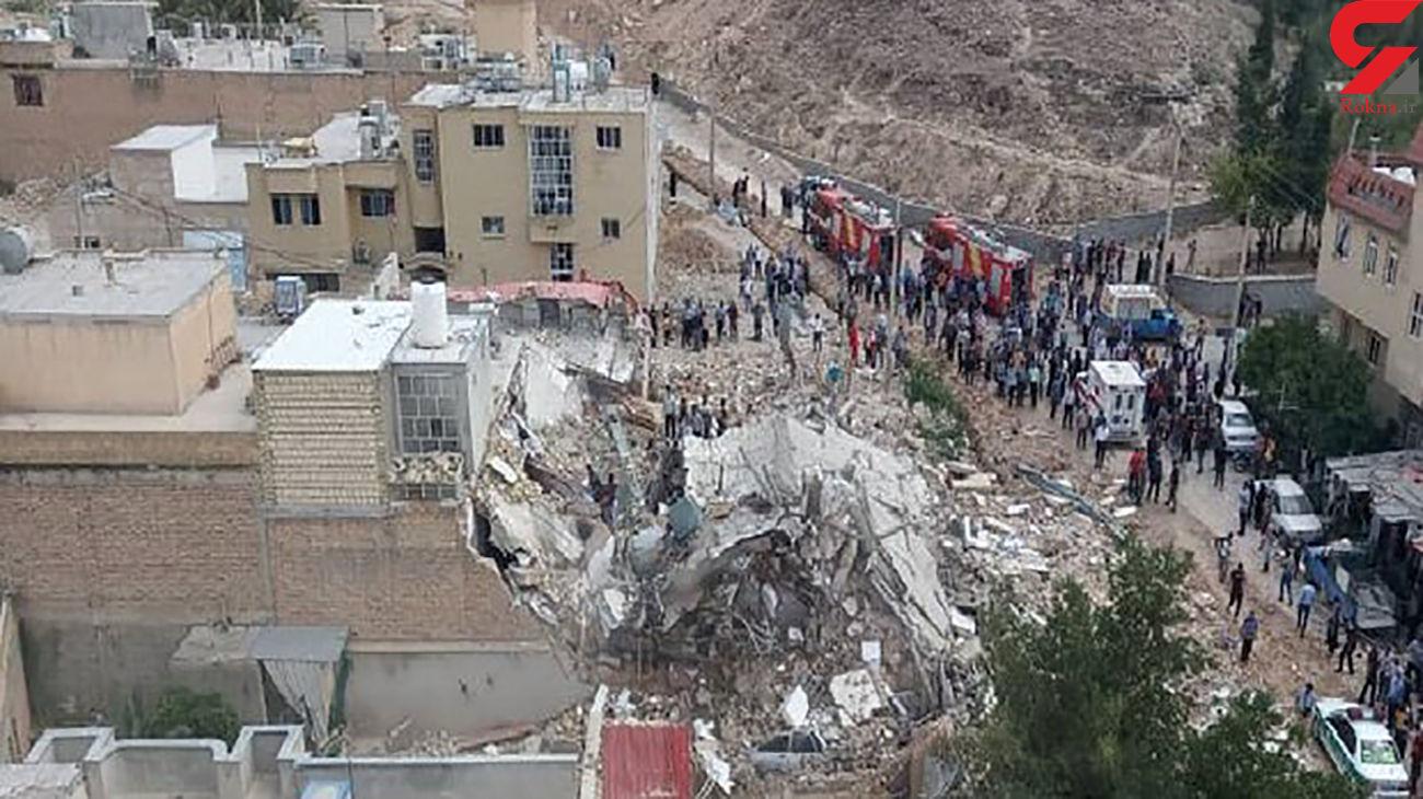 عکسی از عمق انفجار مرگبار در جهرم + فیلم و آخرین خبر