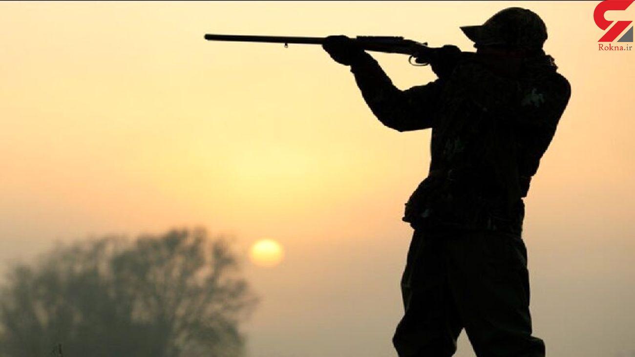 دستگیری شکارچی متخلف در گرمه