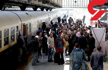 بلیط قطار تهران - مشهد موجود است