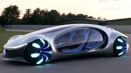 جدیدترین خودروی برقی مرسدس بنز را ببینیم + فیلم