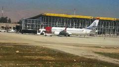 هواپیمای مسافری مسیر دبی- نروژ در آسمان شیراز موتورش را از دست داد +عکس