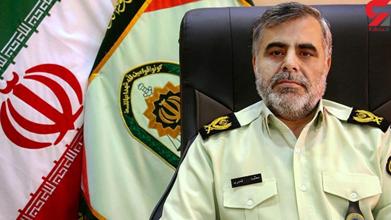 بازداشت 5 شرور مسلح در ایرانشهر