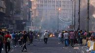 """آغاز تظاهرات گسترده ضد اشغالگری مردم عراق"""" آمریکا برو بیرون"""""""