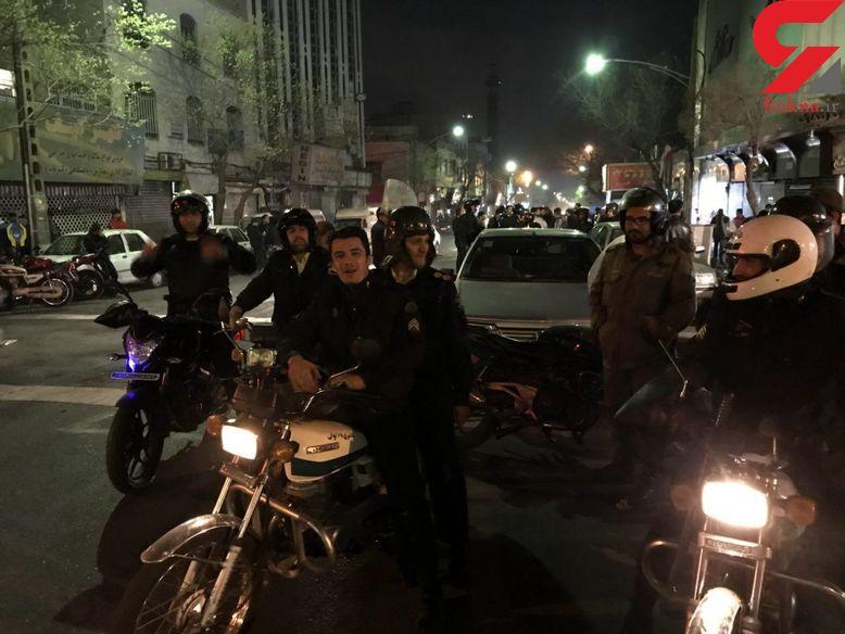 فوری / 30 تهرانی امشب دستگیر شدند / گزارش تصویر خبرنگار رکنا از شب چهارشنبه سوری تهران را ببینید + فیلم و عکس