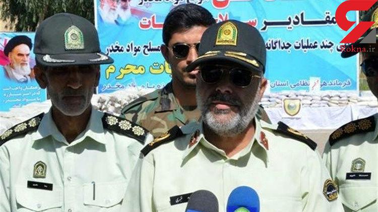 انهدام باند بزرگ قاچاق گازوئیل در سیستان وبلوچستان