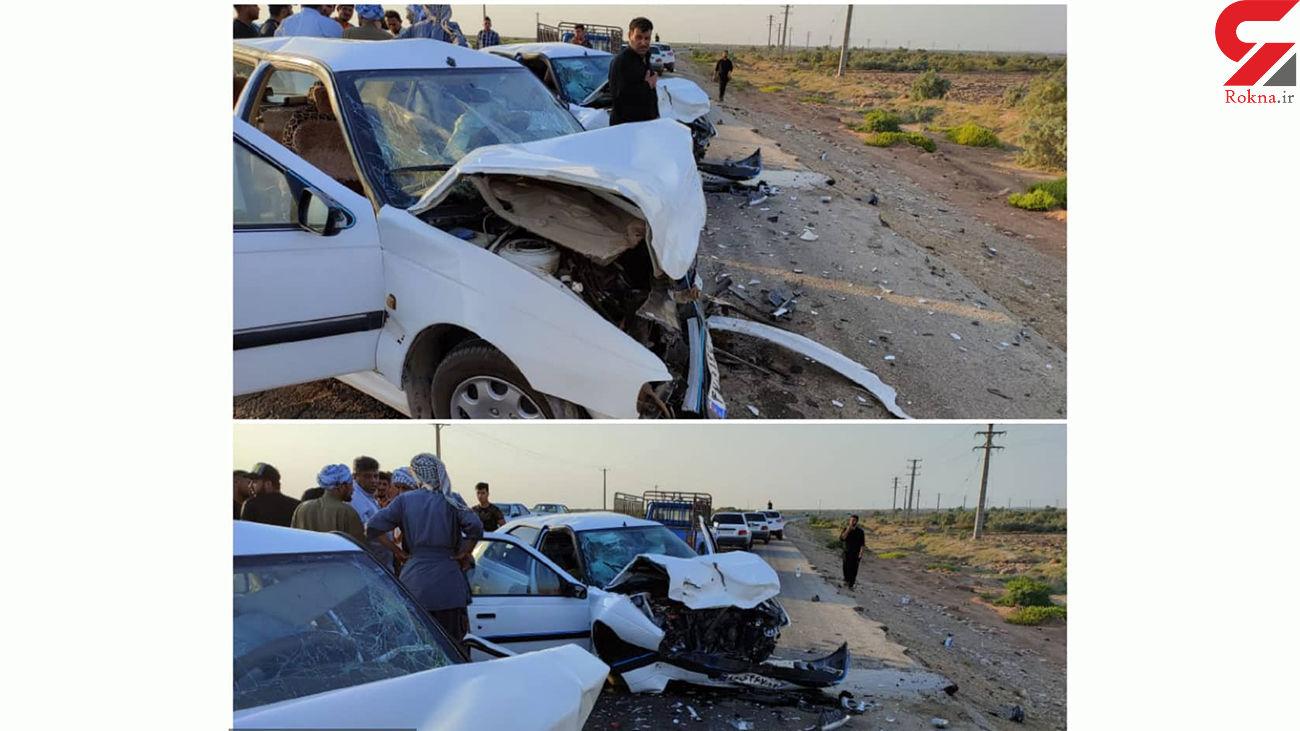مرگ یک زائر ایرانی اربعین در چذابه + عکس تلخ از خودروی له شده