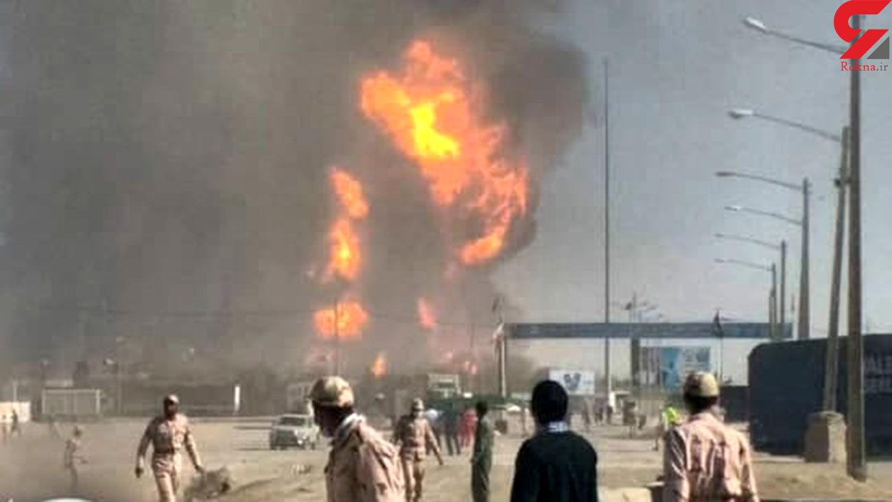 جزئیات آتشسوزی گمرک اسلام قلعه