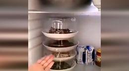 چطور از فضای یخچال نهایت استفاده را ببریم؟ + فیلم