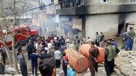 زنده زنده سوختن 20 بزغاله در آتش سوزی هولناک / در سردشت رخ داد
