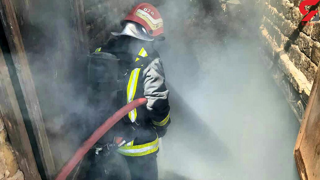 مهار آتش سوزی در انبار ضایعات شرکت پتروپالایش کنگان