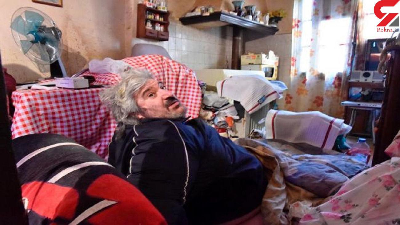 لحظه نفس گیر انتقال مرد ۳۰۰ کیلویی به بیمارستان + فیلم