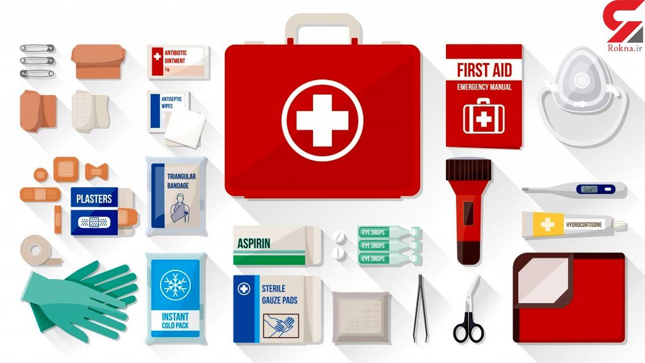 کیف کمکهای اولیه را چطور بچینیم؟