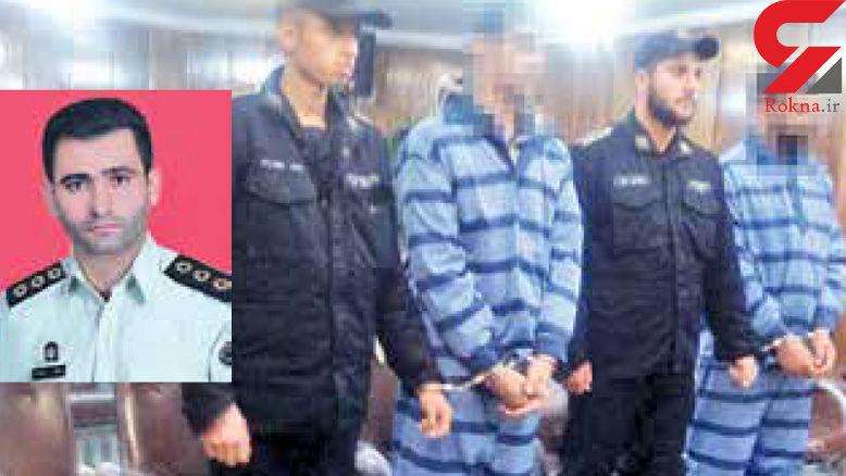 سارقان مسلح منکر قتل افسر پلیس کرج شدند + عکس