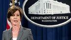 ترامپ؛ وزیر موقت دادگستری را در پی سرپیچی از دستور مهاجرتی برکنار کرد