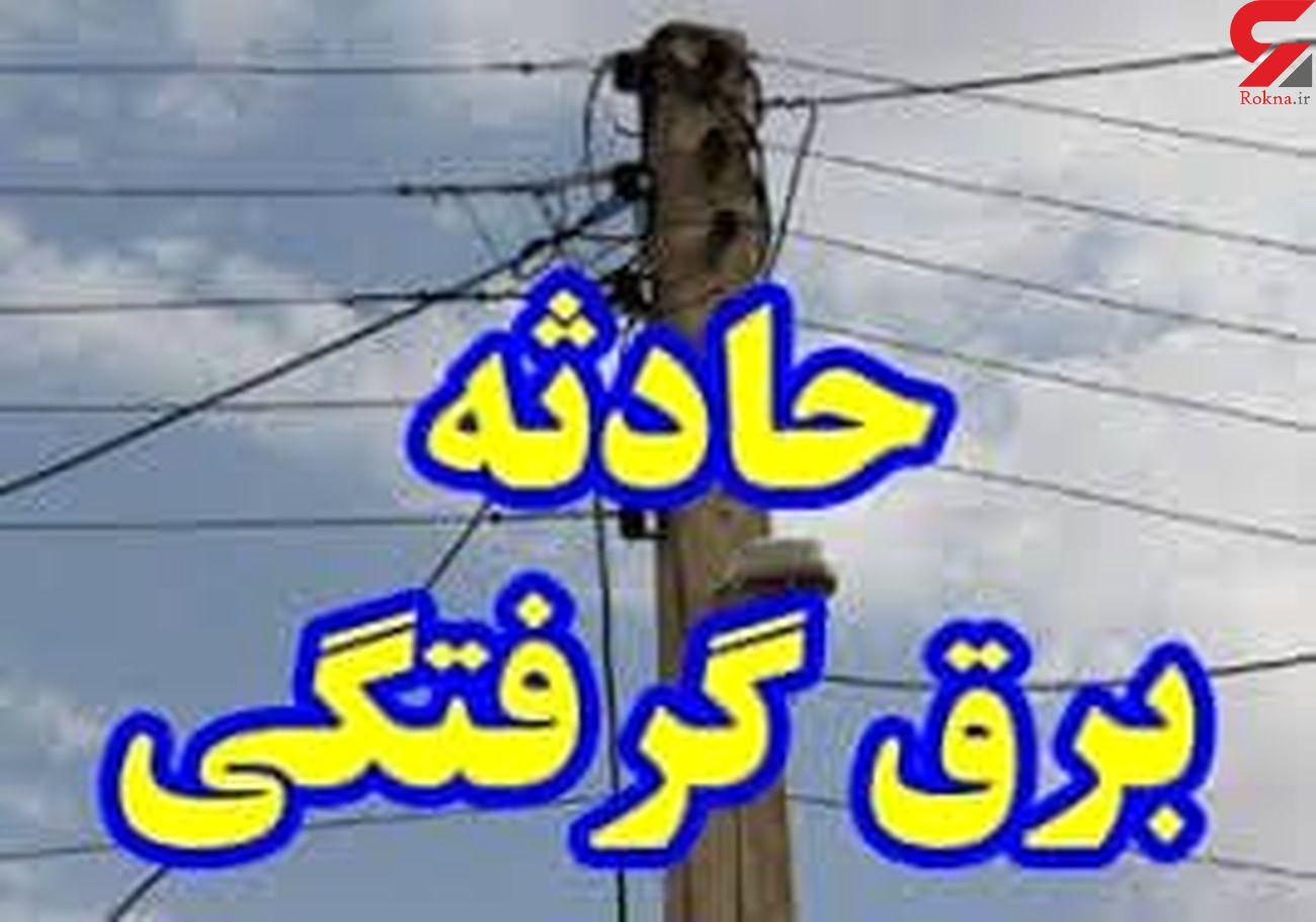 برق جوان ۳۶ ساله پارس آبادی را به کام مرگ فرستاد