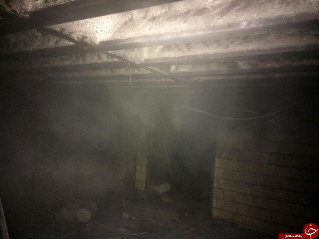 آتش سوزی در بیمارستان شیراز