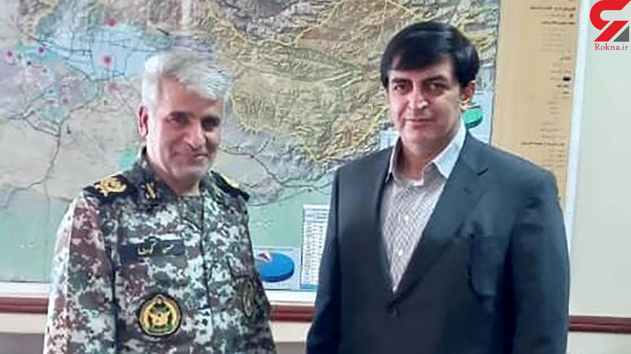 دیدار فرمانده پدافند هوایی با معاون امنیتی و انتظامی استانداری تهران