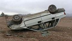 واژگونی مرگبار پراید در محورصحنه- بیستون