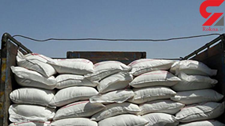 ۷ تن شکر قاچاق در شیروان کشف شد