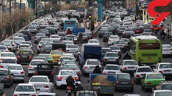 وضعیت ترافیکی و جوی راه های کشور
