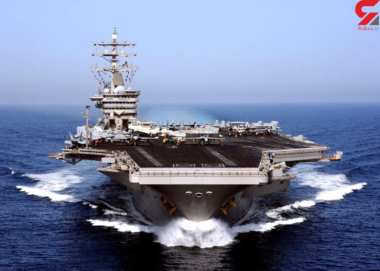 خروج ناو «یو اس اس باتان» آمریکا از خلیج فارس