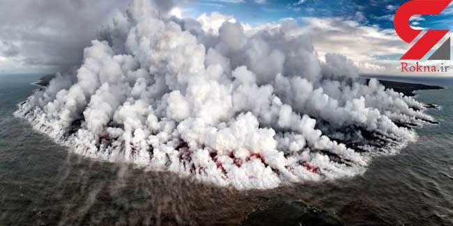 جزیره آتشین/ عکس نشنال جئوگرافیک+عکس