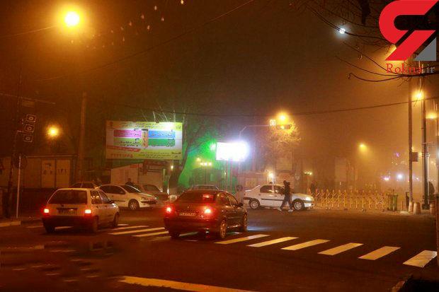ارتفاعات خراسان شمالی و مازندران درگیر مه سنگین