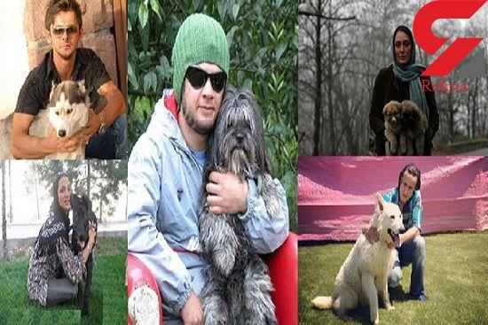 نقش سلبریتیهای لاکچری در ترویج زندگی با سگ ها!ً + عکس