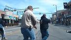 فیلم لحظه شلیک 45 گلوله به مردی که 4 شهر را به هم ریخت! + تصاویر